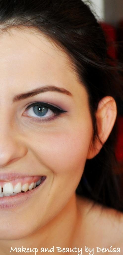 a soft makeup look