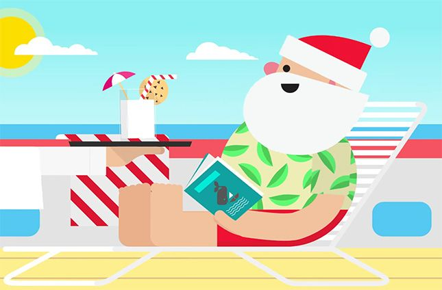 This totally tricked-out online Santa Tracker is loads of fun for grown-ups + kids alike.