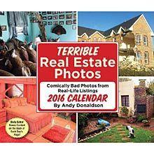 Terrible Real Estate Photos 2016 Desk Calendar Susanna×××××××