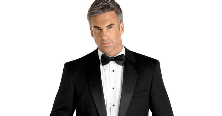 This Versini single-button, non-vented black tuxedo is a true classic that will last for years to come. Made of 100% worsted wool. Features ...