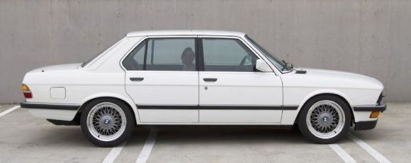 1988 BMW 535i For Sale Side