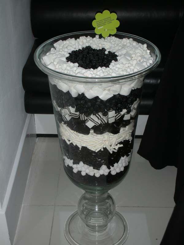 Giant Black & White Arrangement