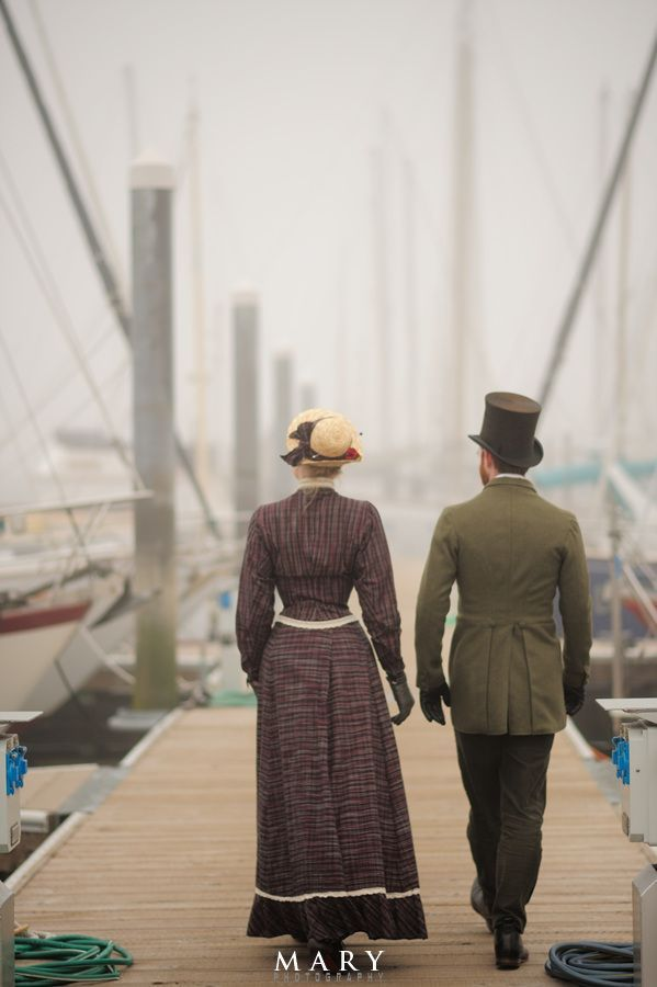 A couple who decided to recreate the Victorian Era as their life. Also they receive death threats for being different (?!?!?!????)
