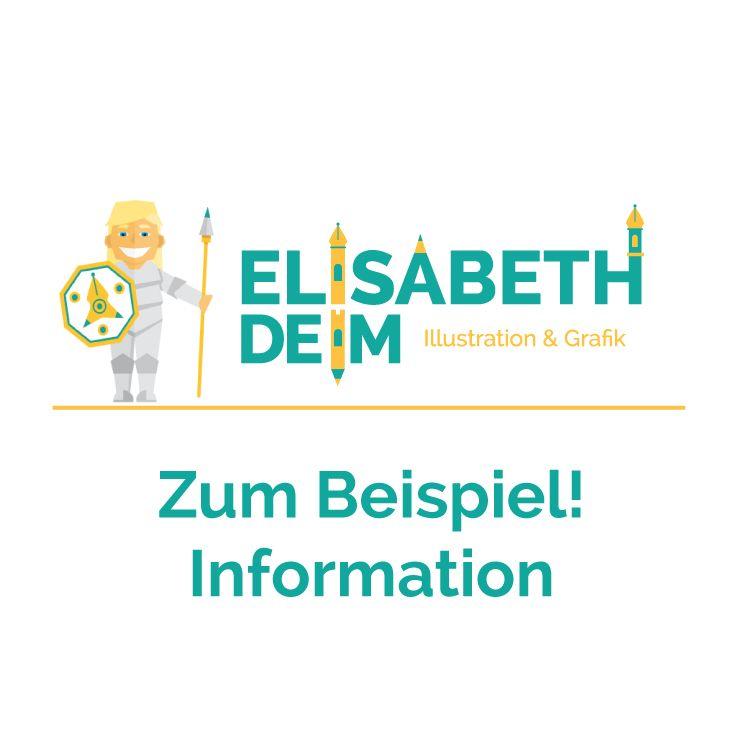 Zum Beispiel! Information Illustration
