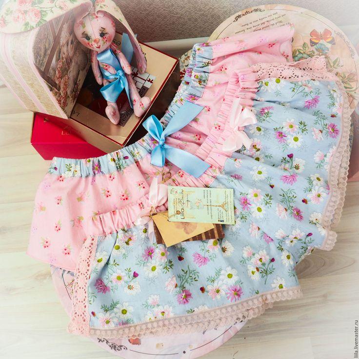 Купить Нежность Хлопковые шортики Liila - белье ручной работы, натуральное белье, хлопковое белье