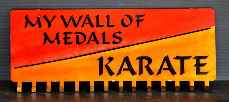 Martial Arts Medal Holders: Karate Medal Holder: Taekwondo Medal Holder – Best on the Planet: Karate Belt Display: Martial Arts Belt Displays