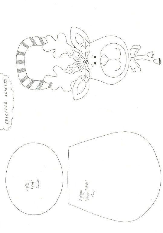 NAVIDAD FIELTRO | Aprender manualidades es facilisimo.com