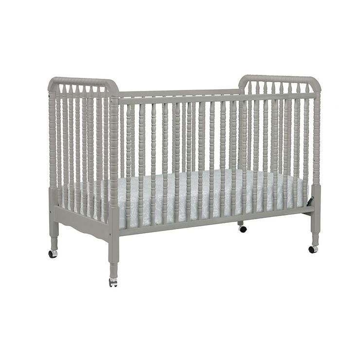 Davinci Jenny Lind 3 In 1 Cot Fog Grey Babies R Us