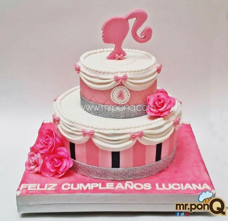 Cake Design Torta Barbie : 320 best images about Tortas on Pinterest