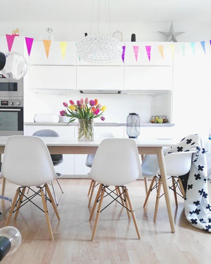 Die besten 25+ Deko weiß küche Ideen auf Pinterest Küche weiß - dekoideen mit textilien kreieren sie gemutliche atmosphare zuhause