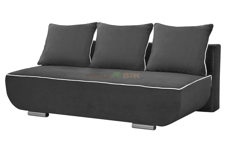 Kanapa wypoczynkowa rozkładana Santi Plus z poduszkami - WM-Meble - sklep meblowy Meble BIK