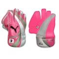 $65 - Puma Ballistic Reserve Wicketkeeping Gloves 09/10 - PUMA® continues its support of the McGrath Foundation with the limited edition release of the Pink Ballistic Reserve cricket collection. When you walk out onto the crease this summer, why not wear our pink wicket keeping gloves?     This limited edition collection was launched to coincide with Adam Gilchrist's appearance in the Twenty 20 All Star XI clash against Australia at the GABBA in Nov 2009.