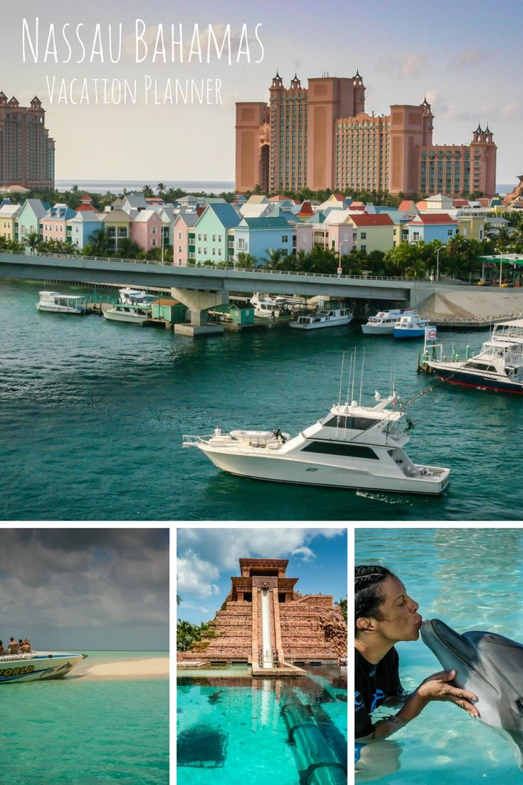 Natural beauty is reason enough to visit Nassau Bahamas and Paradise Island, but with this Caribbean destination, it's all about more: more thrills, more attractions, and more FUN. #travel #Bahamas #Caribbean @GetawayMavens