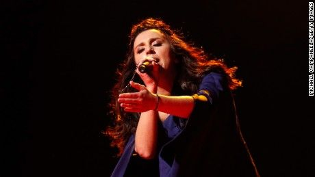 Jamala of Ukraine won the Eurovision Song Contest with a controversial tune that evokes Moscow's deportation of the Crimean ethnic group during World War II.
