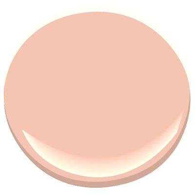 Benjamin Moore: Teacup Rose (to replace what's now in the bathroom).