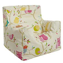 Buy Harlequin What A Hoot Bean Bag Chair Online At Johnlewis