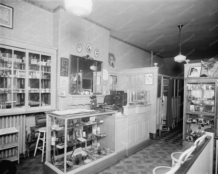 Beauty Shop Vintage Old 8x10 Reprint Of Photo