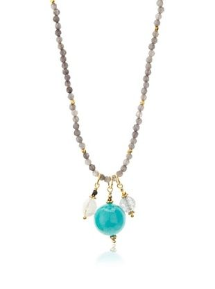 70% OFF Robindira Unsworth Amazonite Cluster Necklace
