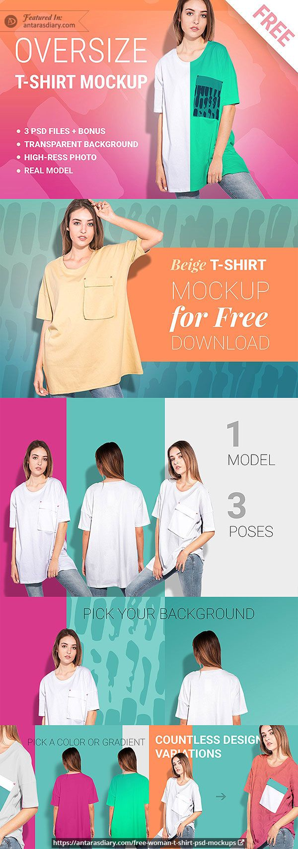 Download 60 Free Woman T Shirt And Apparel Psd Mockups T Shirts For Women Shirt Mockup Women