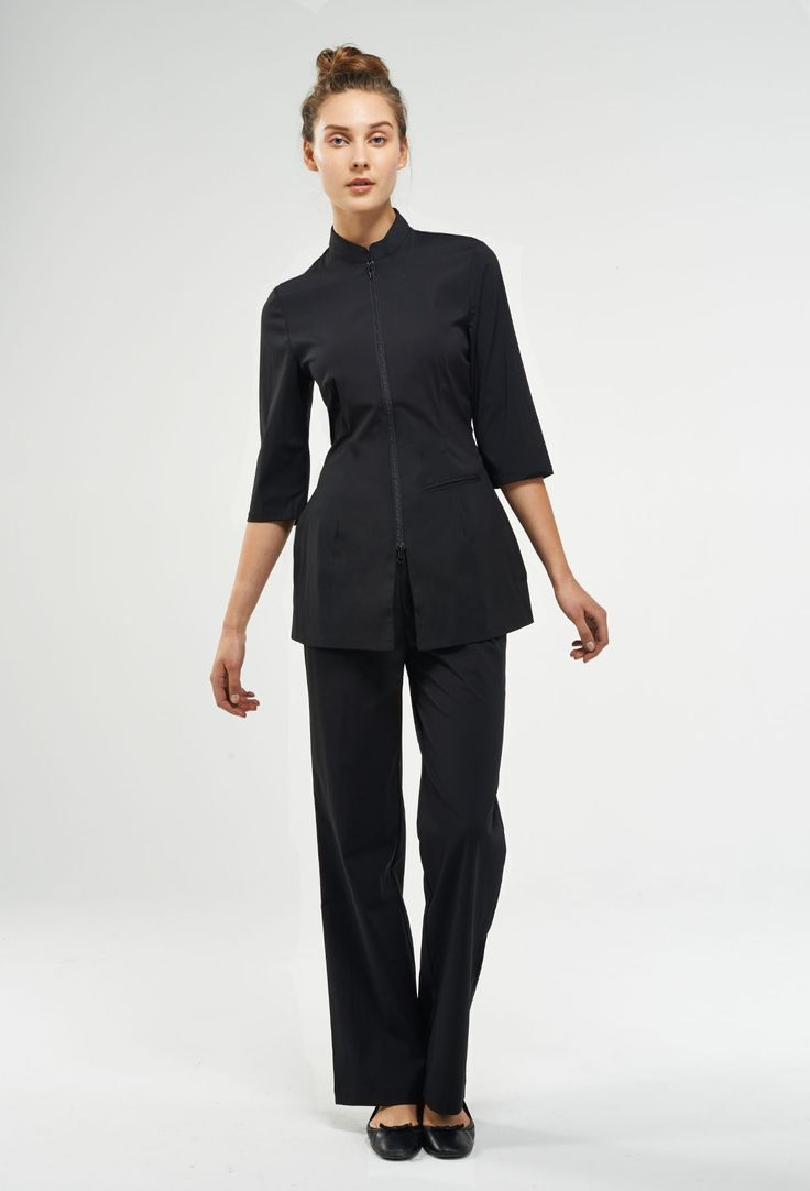 20 best images about medical uniforms on pinterest hotel for Spa housekeeping uniform