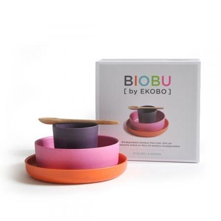 Bambino Kids Set// biodegradable and dishwasher safe bamboo fibre homewares