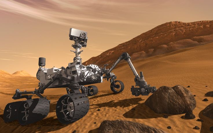 The Mars Science Laboratory mission's Curiosity rover, the most technologically advanced rover ever built, landed in Mars' Gale Crater the evening of Aug. 5 PDT (morning of Aug. 6 EDT) using a series of complicated landing maneuvers never before attempted.