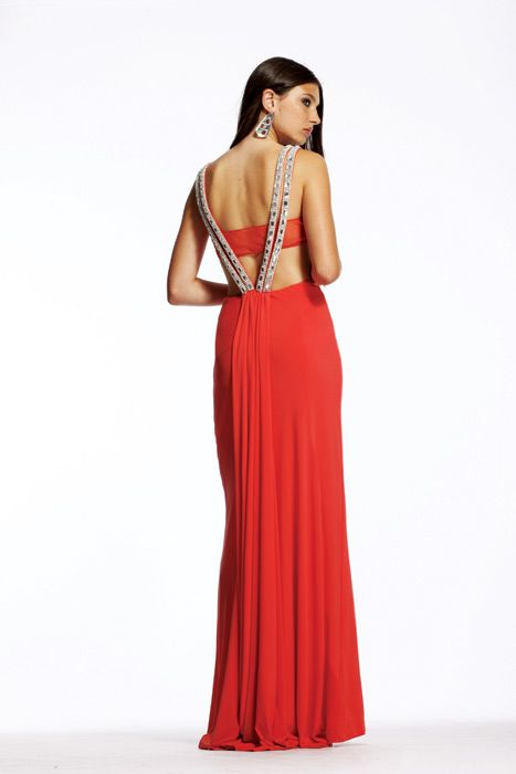 24 besten Red Evening Dresses Bilder auf Pinterest | Lange ...