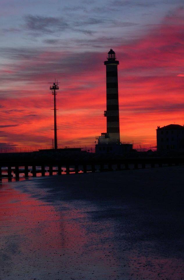 Cavallino's lighthouse