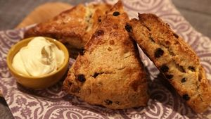 Carla Hall's Golden Raisin Scones Recipe | The Chew - ABC.com