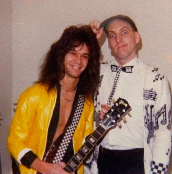 EVH and Rick Nielsen (Cheap trick)