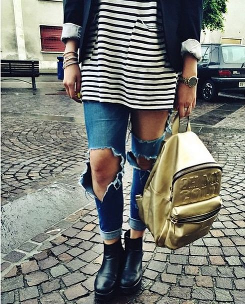 STAY GOLD #shopart #collection #adorage #style #springsummer15 #shopartonline #shopartmania #love #gold #backpack