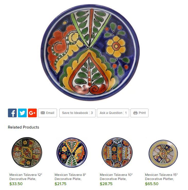 http://www.houzz.com/photos/22552422/Mexican-Talavera-6-1-4-Decorative-Plate-Design-B-mediterranean-decorative-plates