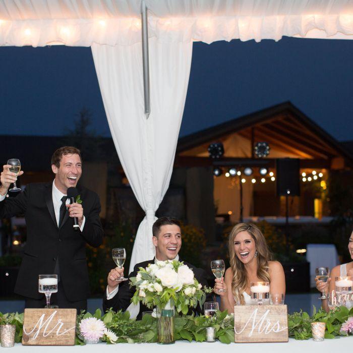 best man speech toast reception
