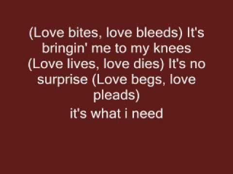 love bites lyrics by def leppard - YouTube. ;)
