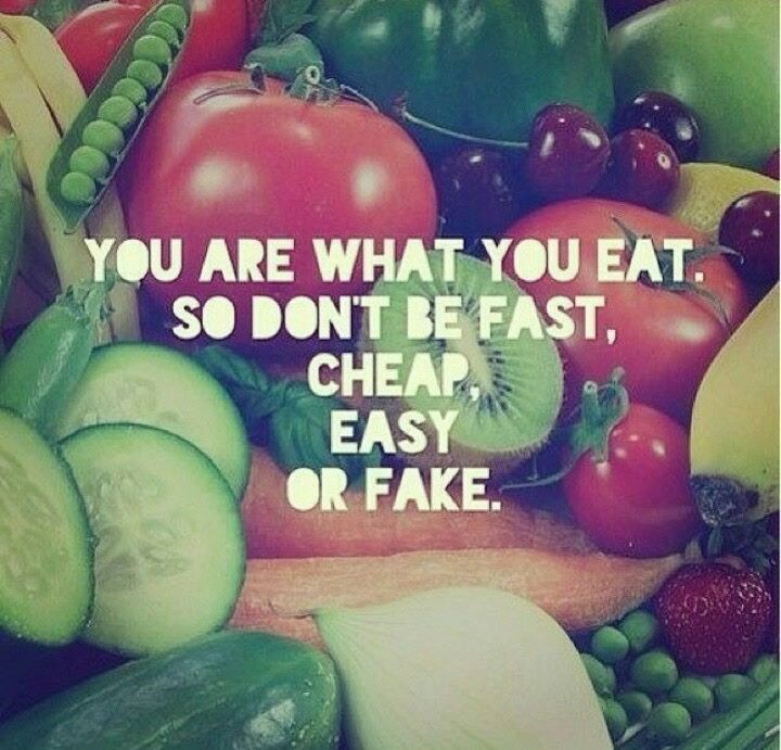 Fruit and vegetables can be the most powerful medicine u can put in ur body