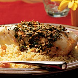 Halibut with Charmoula | MyRecipes.com #MyPlate #protein