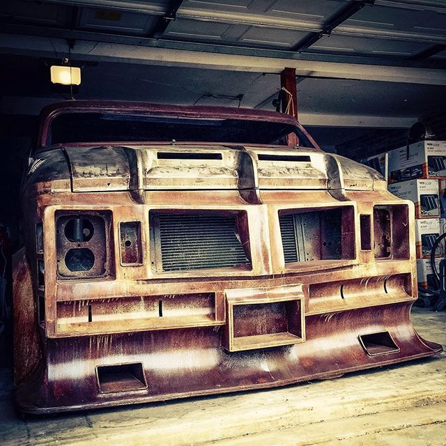 Hell Awaits! #theenforcer #customvan #streetvan #vannin #customvans #hydraulics #vanarchy #okc #vanspotting: