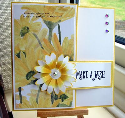 Twinks Stamping | Stampin' Up! Demonstrator: Daisy Buckle Card