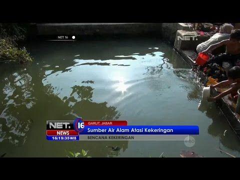 Sumber Air Alam Selamatkan Warga Desa Kertajaya, Garut, dari Kekeringan - NET16 - YouTube