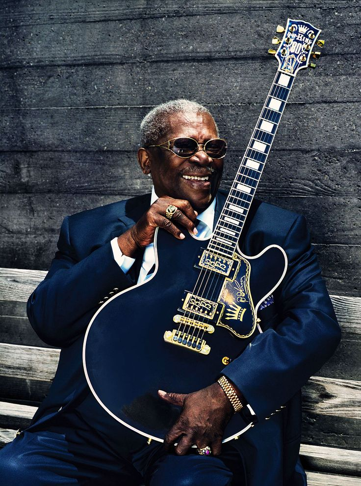 B.B. King  what a fab pic of BB
