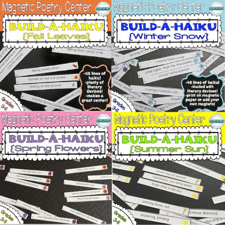 BuildAHaiku Bundle {Four Seasons + Bonus!} Forms of