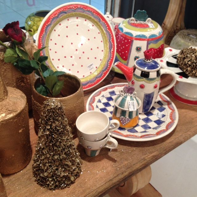 We have a beautiful selection of unique handmade ceramics  #GardenRouteMall #decor #ceramics www.isabelina.co.za