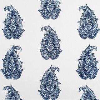 Ralph Lauren Robbins Hill Paisley Admiral Fabric - traditional - outdoor fabric - by Online Fabric Store