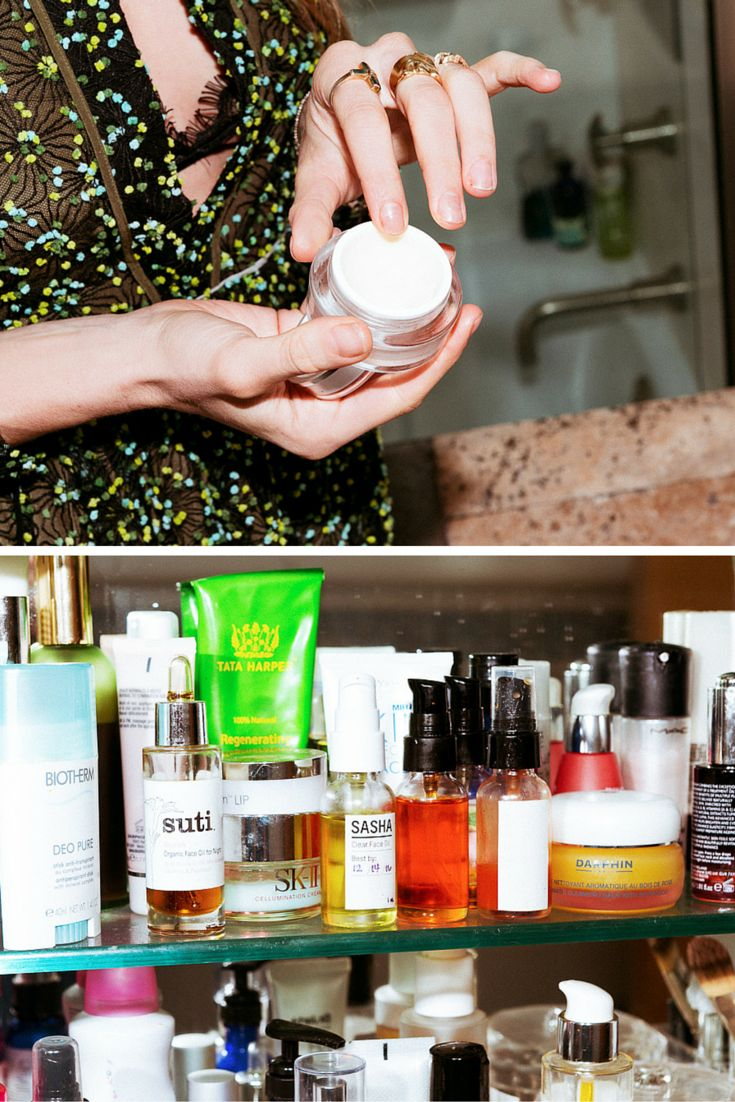 How to de clutter your beauty cabinet kendi everyday - Dj Chelsea Leyland S Nighttime Beauty Routine