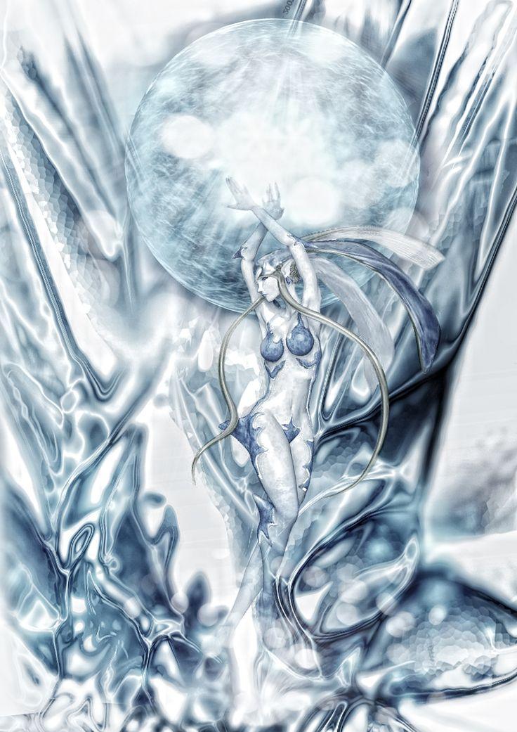 Shiva - Final Fantasy | by tomzj1