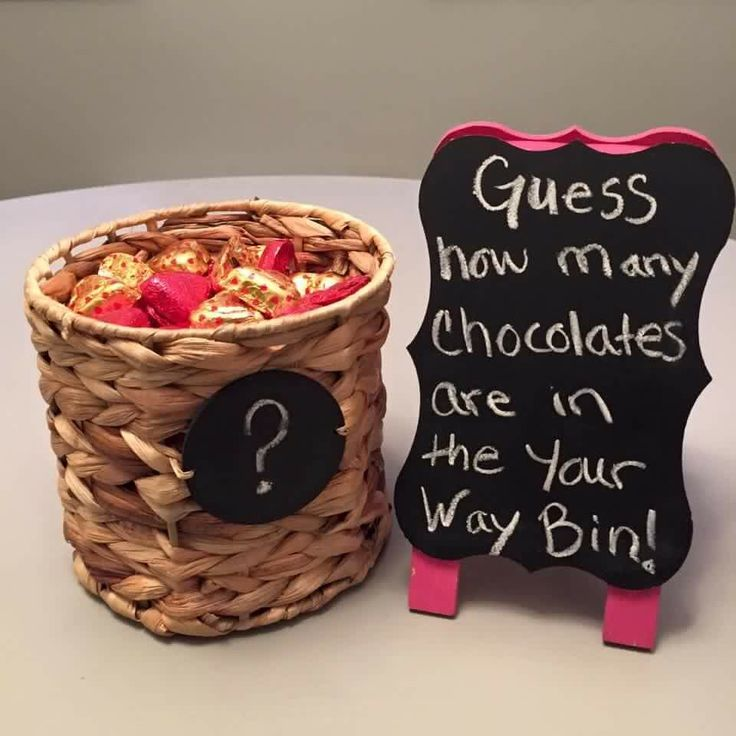 Basket/Your Way Bin guessing game!                                                                                                                                                      More