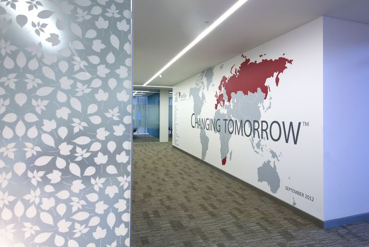 Signbox takes Astellas Pharma HQ from chilling to cheery. http://bigpicture.net/content/wall-graphics-transform-inception-set-office-building