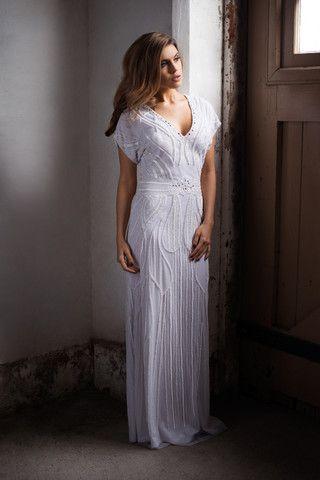 Atlantis Gown - White