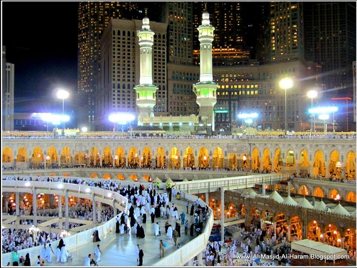 Night in around of Ka'abah