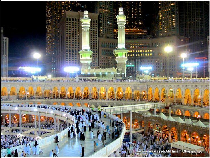 Night in around of Ka'abah